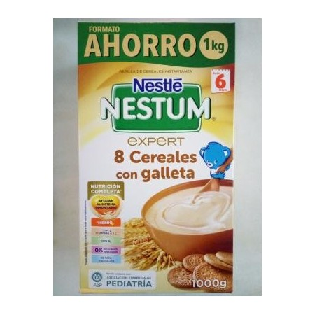 NESTUM 8 CEREALES CON GALLETA 1,1 kg