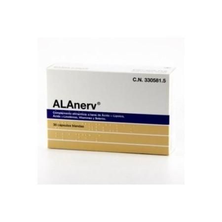 ALAnerv 30 cápsulas blandas.