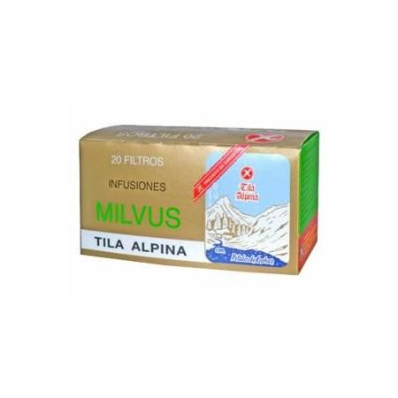 Tila Alpina Milvus 1,2 g 20 filtros.