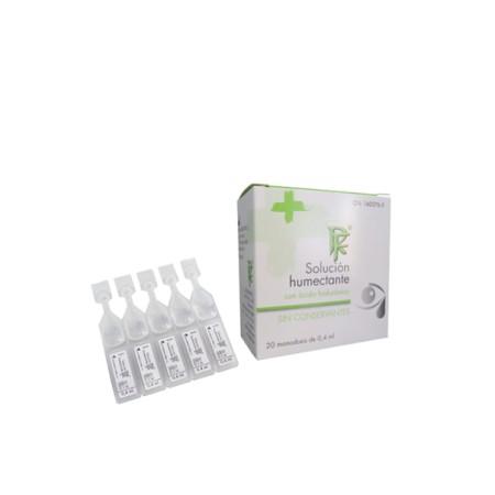 Solución humectante RuedaFarma 20 monodosis.