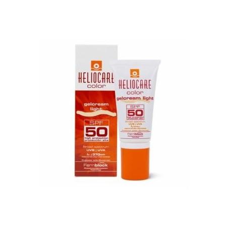 Heliocare color gel crema SPF50 tono claro 50 ml