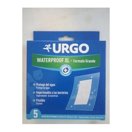 Urgo waterproof XL 5 apósitos transparentes