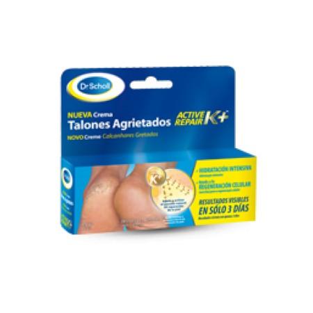 Crema Talones Agrietados con Active Repair K+Dr. Scholl 60 ml