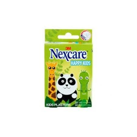 Nexcare 3M Happy Kids 20 tiras adhesivas infantiles animales