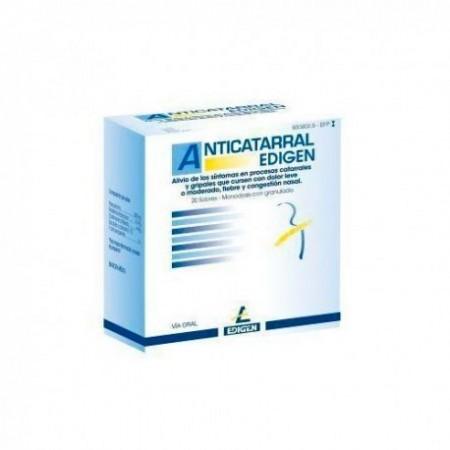 ANTICATARRAL EDIGEN 500/4/10 MG 20 SOBRES POLVO SOLUCION ORAL
