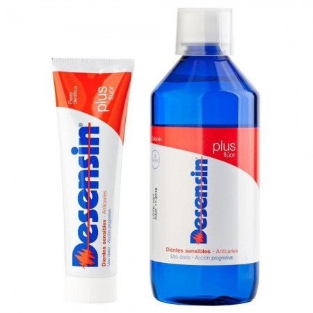 DESENSIN PASTA DENTAL 125 ML + COLUTORIO 500 ML PACK