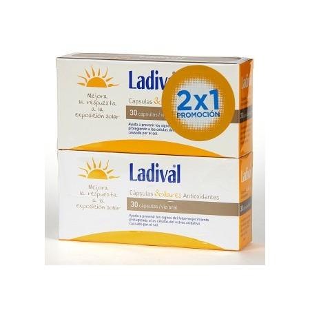 LADIVAL CAPSULAS SOLARES DUPLO 30+30 UNIDADES