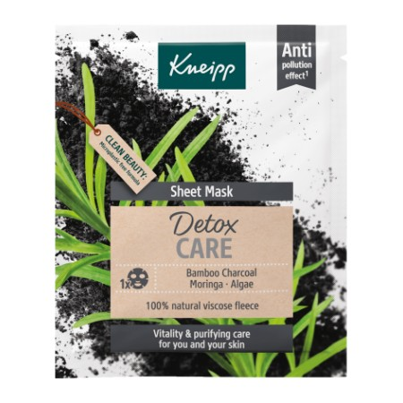 KNEIPP SHEET MASK DETOX 1 U