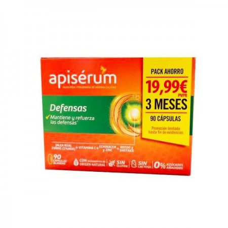 APISERUM DEFENSAS CAPS PACK 3M