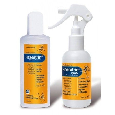 NEOSITRIN 100 % SPRAY + CHAMPU ANTIPIOJOS KIT