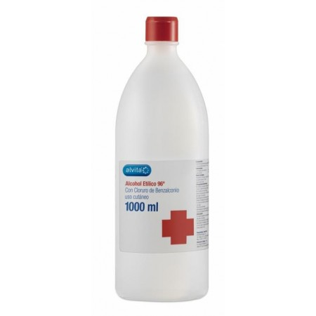 Alcohol 96º Alvita 1000 ml