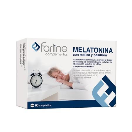 FARLINE MELATONINA 1 MG 60 COMPRIMIDOS