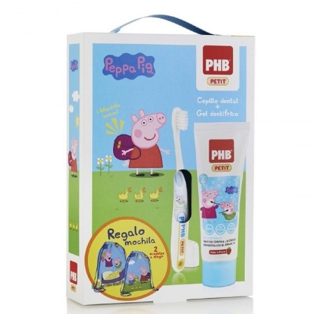 PACK PEPPA PIG PHB PETIT GEL DENTIFRICO + CEPILLO
