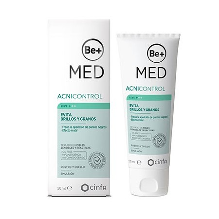 BE+ MED ACNICONTROL EVITA BRILLOS Y GRANOS 50 ML