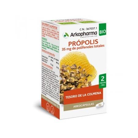 PROPOLIS ARKOPHARMA BIO 40 CAPSULAS