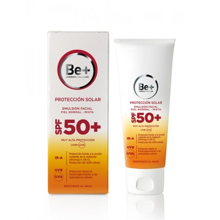 Be+ Emulsión Facial Piel Normal Mixta SPF50+ 50 ml