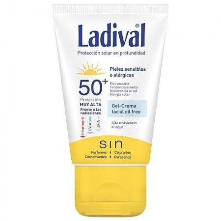 Ladival® Pieles Sensibles o Alérgicas FPS 50+ 75 ml