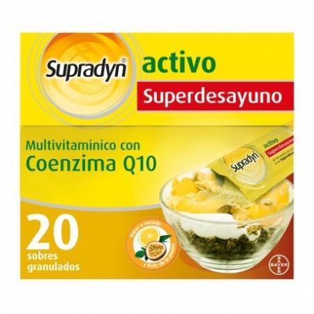 SUPRADYN ACTIVO SUPERDESAYUNO  20 SOBRES