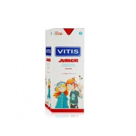 VITIS JUNIOR COLUTORIO 1 ENVASE 500 ML