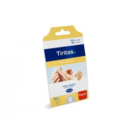 Tiritas Tela Elastic 10 tiras de 6x10cm