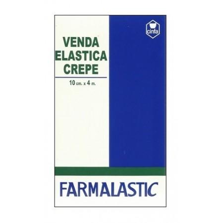 VENDA ELASTICA CREPE FARMALASTIC 4 M X 10 CM