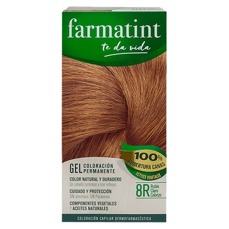 FARMATINT 8R  RUBIO CLARO COBRIZO 135 ML.