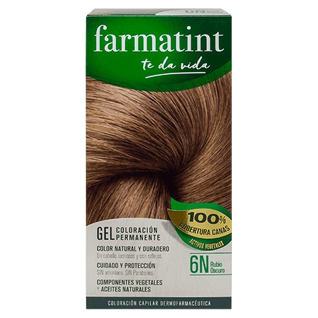 FARMATINT 6N RUBIO OSCURO 135 ML