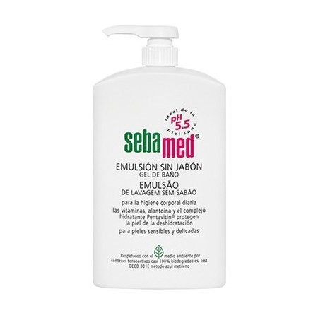 SEBAMED EMULSION SIN JABON 500 ML