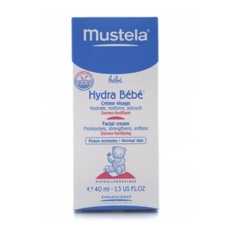 Hydra Bébé® Crema cara Mustela 40 ml