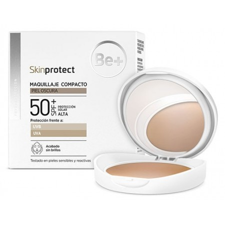 BE+ SKIN PROTECT MAQUILLAJE COMPACTO PIEL OSCURA SPF50+ 10 G