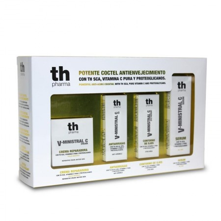 TH PACK MINISTRAL CREMA + SERUM + CONTORNO + ANTIARRUGAS