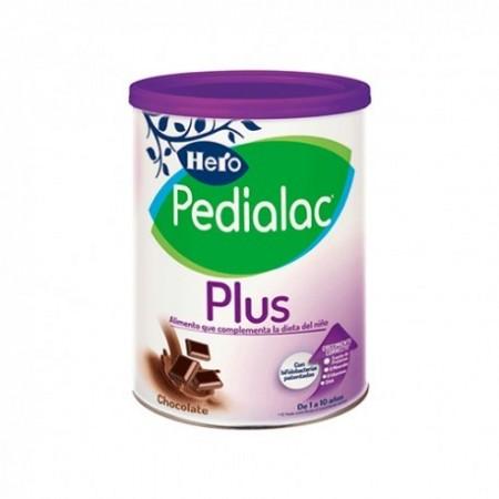 PEDIALAC PLUS CHOCOLATE SUPLEMENTO NUTRICIONAL HERO BABY 1 AÑO 1 ENVASE 800 G