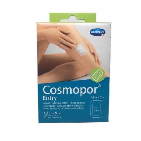 COSMOPOR ENTRY APOSITO ESTERIL 7.2 X 5 CM 10 U