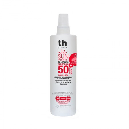 TH ATOPIC SUN PROTECT FPS50+ CORPORAL PEDIATRICO 200ML
