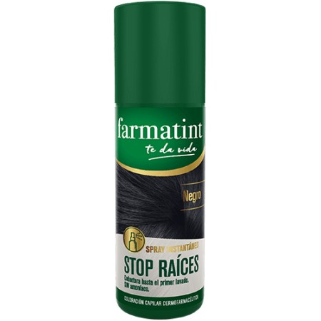 FARMATINT STOP RAICES 1 SPRAY 75 ML TONO NEGRO