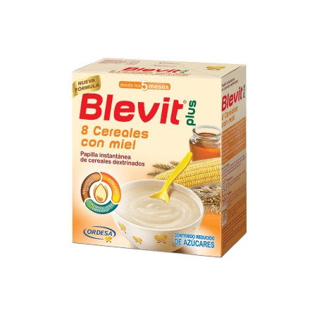 BLEVIT PLUS 8 CEREALES CON MIEL  1000 G