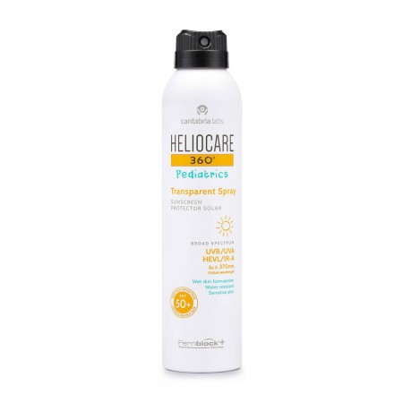 HELIOCARE 360º SPF 50+ PEDIATRICS SPRAY PROTECTOR SOLAR TRANSPARENTE 200 ML