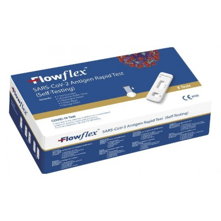 FLOWFLEX TEST NASAL ANTIGENOS AUTODIAGNOSTICO SARS-COV-2   1 TEST
