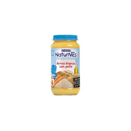 Nestlé Naturnes arroz blanco con pollo 250 g.