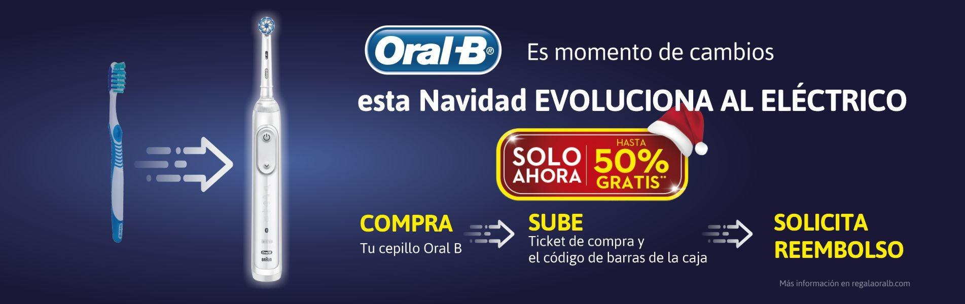 Oral B renueva a eléctrico